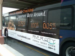 Custom bus wraps and graphics