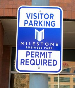Informational Signs custom parking outdoor metal traffic sign safety wayfinding 256x300