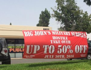 Large Banners banner outdoor promotional vinyl 300x232